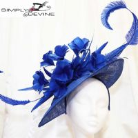 Magnificent Royal Blue Mother of the Bride hatinator 14809/SD286